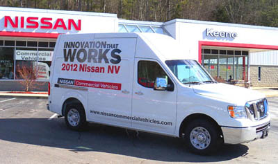 Nissan Commercial Vehicles @ Nissan of Keene, Keene NH