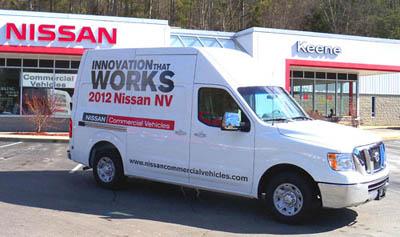 Nissan Commercial Vehicles @ Nissan of Keene, Keene NH
